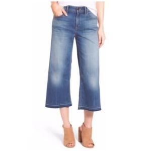Nordstrom Chelsea28 Wide Leg Crop Jeans